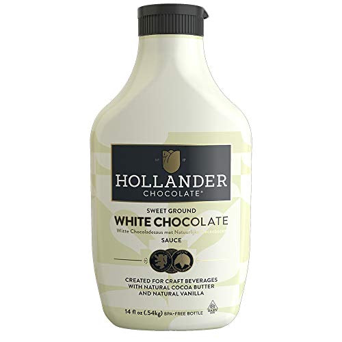 Hollander - White Chocolate Squeeze Bottle