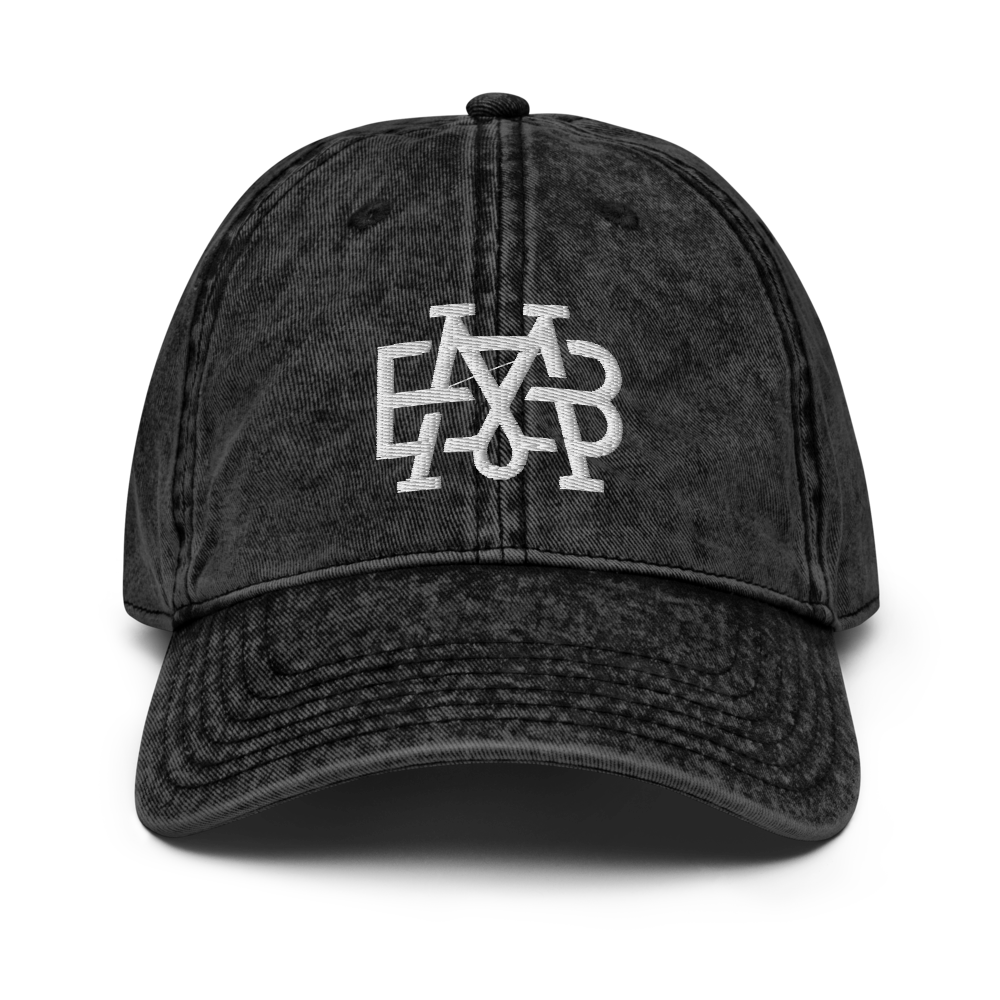 Monogram - Denim Cap