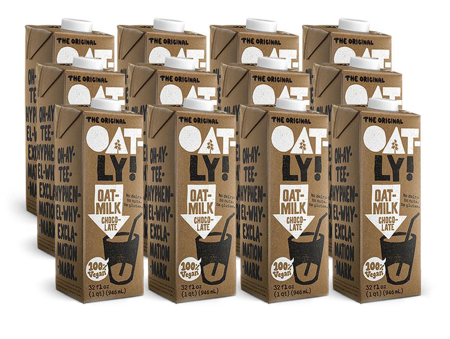 Oatly - Chocolate Oatmilk 12 Pack