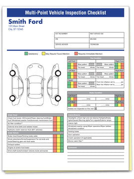 Multi-Point Inspection Forms, Custom