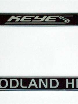 License Plate Frames - Chrome Plated Plastic