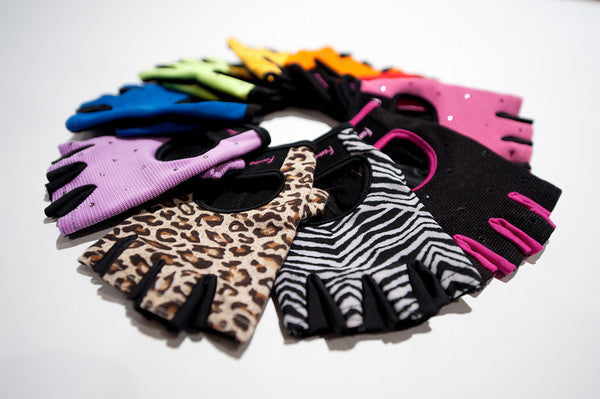 Animal Print Fitness Gloves