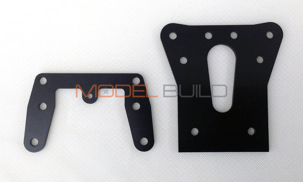 MB Aluminium Front & Rear Damper Stays (Shock Towers) for the Tamiya Avante 2001