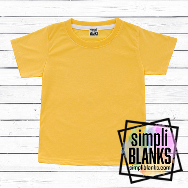 MUSTARD SUBLIMATION SHIRT- |INFANT| TODDLER | YOUTH | ADULT