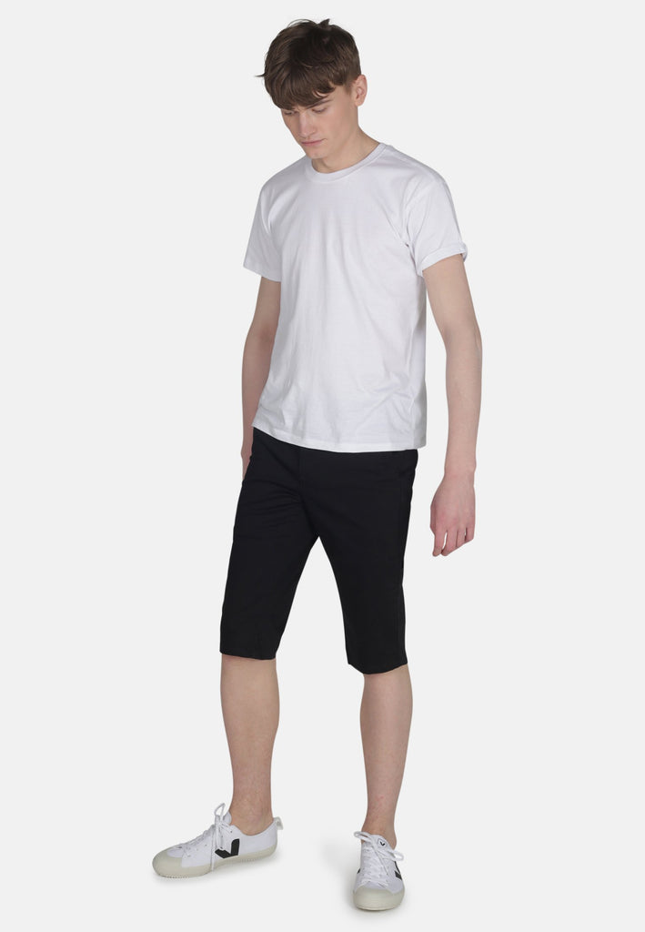 Matt Long Chino Shorts in Black