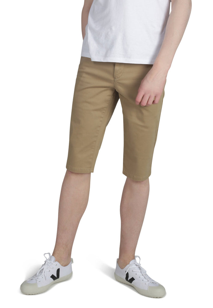 Matt Long Chino Shorts in Buff