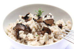 Rice with Sliced Mushrooms