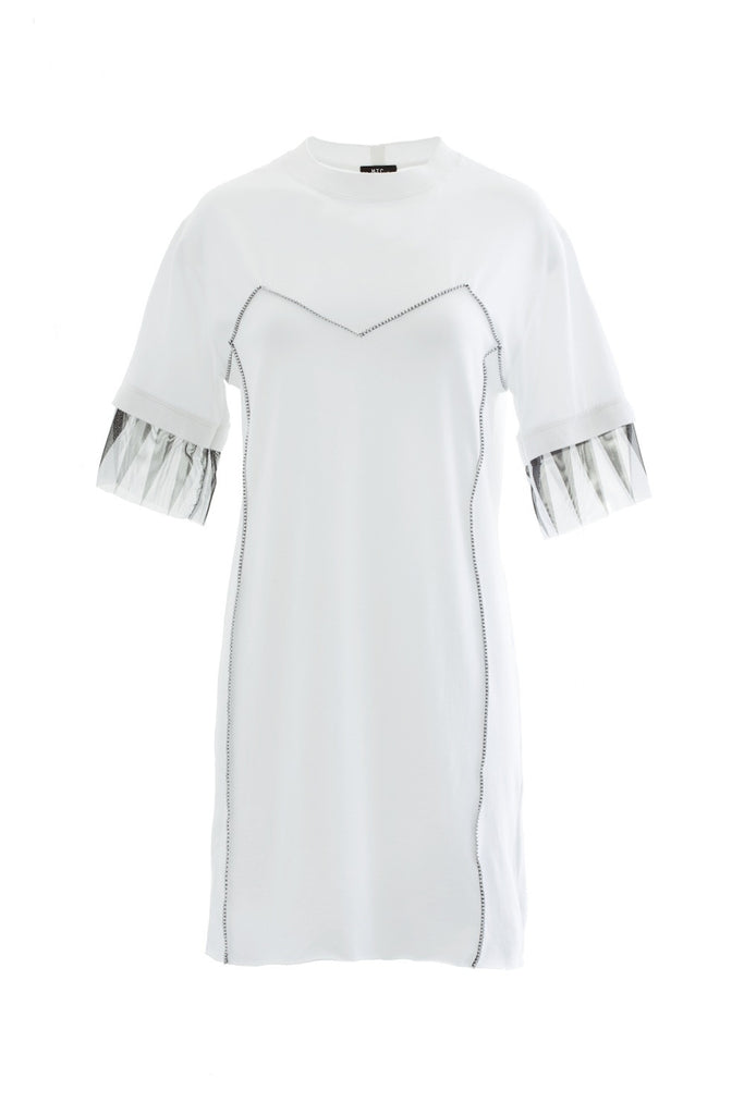 Night fever t-shirt dress