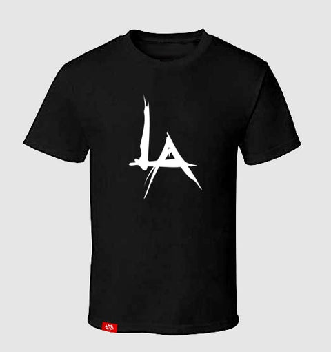 The Pentagon LA Logo Tee (Black) (1)