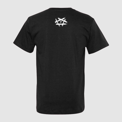 The Pentagon LA Tee Black Back
