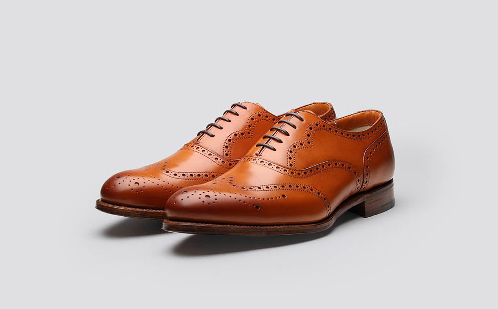 Classic brogues Grenson