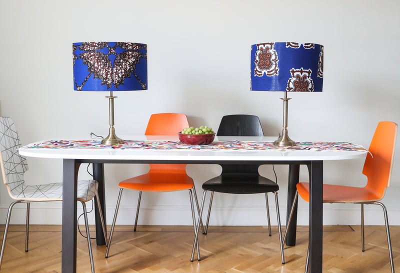 Handmade by Vanessa Set of 2  Tribe Lampshades