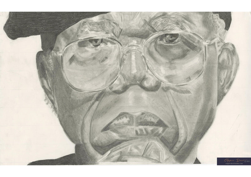Portrait Art: Chinua Achebe