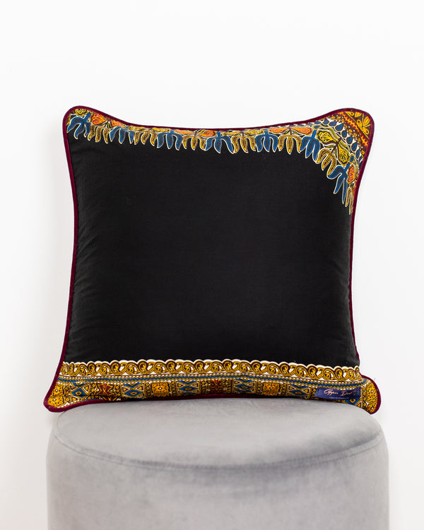 Yaw Burgundy Velvet Scatter Cushion