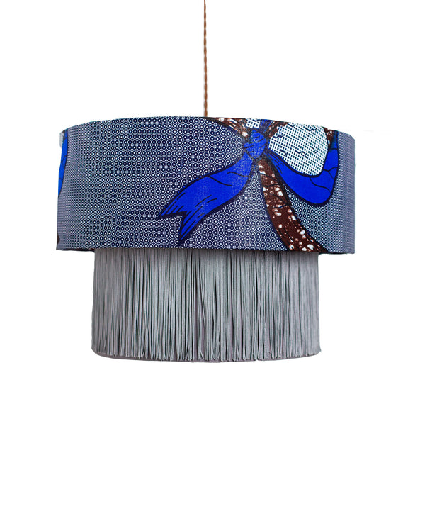 Fanti City Blue Lamp Shade