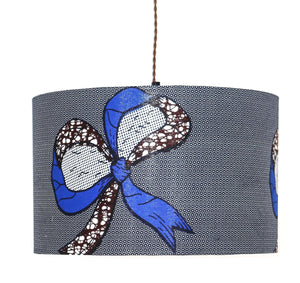 Fanti blue ribbon lampshade