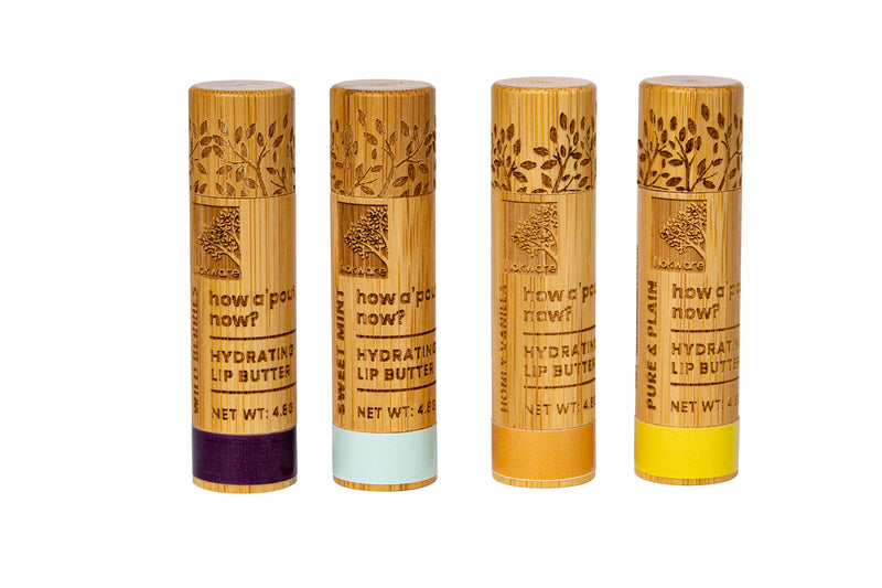 100% Natural Shea Butter Lip Balms