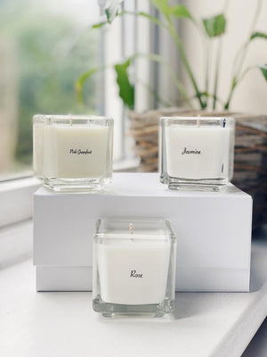 Vegan candle set
