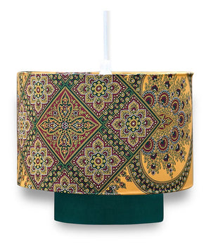 Kwabena Yellow Lamp Shade