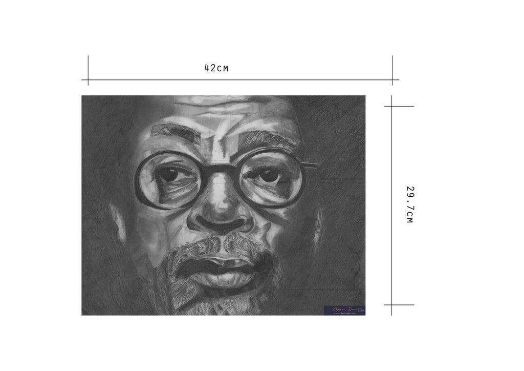 Portrait Art: Spike Lee dimensions