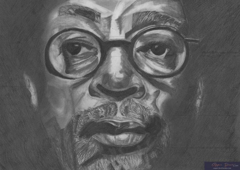 Drawn by Vanessa Portrait Art: Spike Lee