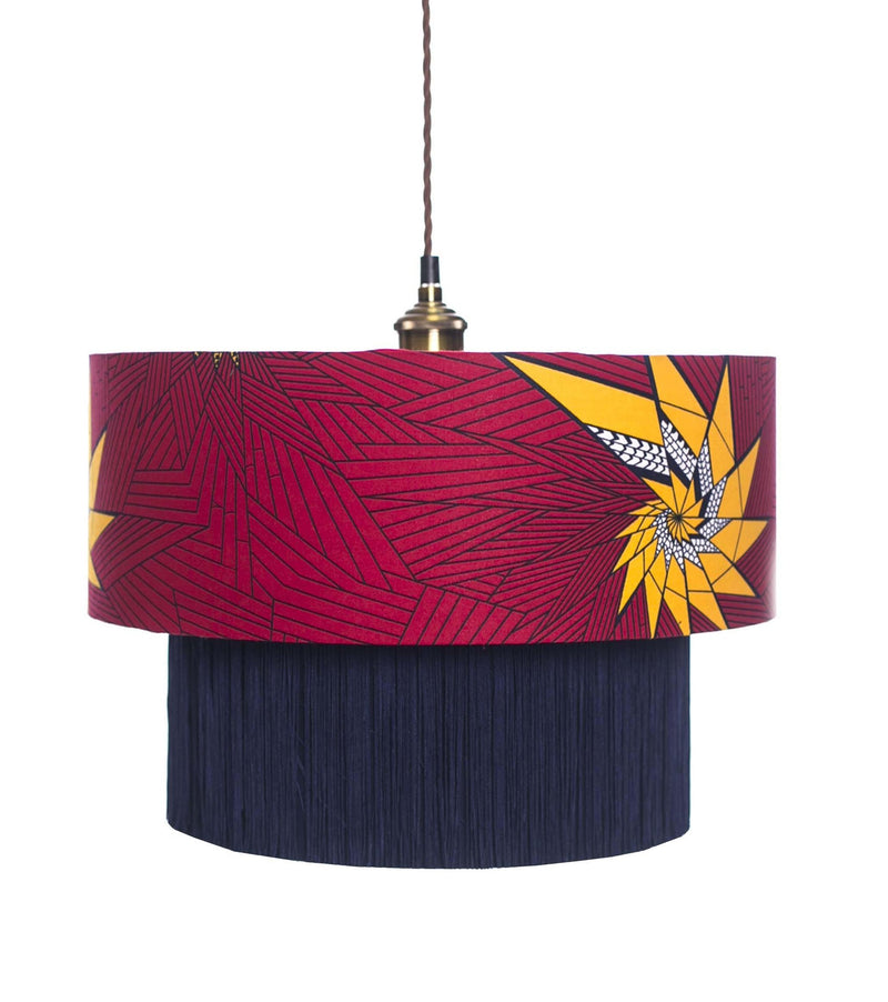 Taifa Yellow Star Lamp Shade