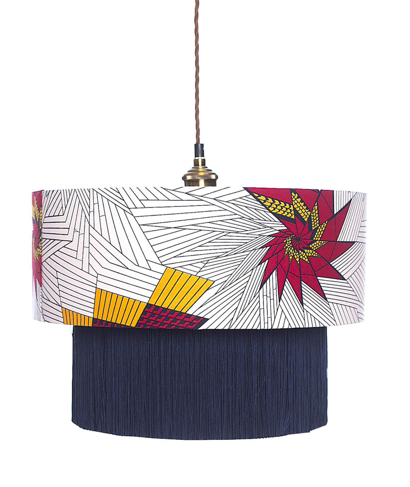 Tema Red & Yellow Star Lampshade