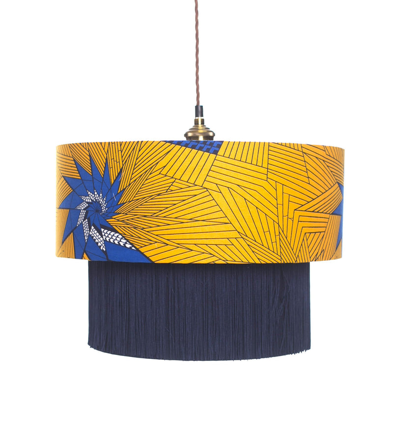 Teshie Blue Star lampshade lifestyle
