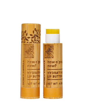 Honey & Vanilla Shea Butter Lip Balm