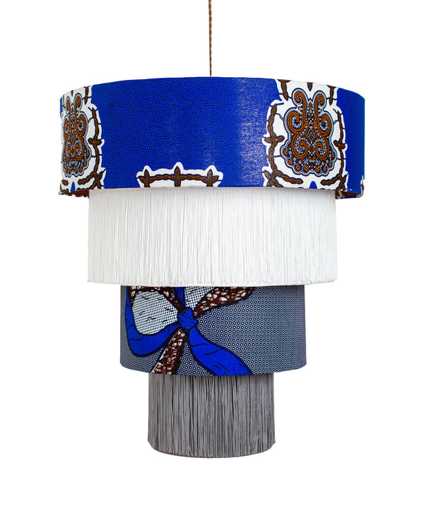 Four Tier Tribe Volta Chandelier Shade