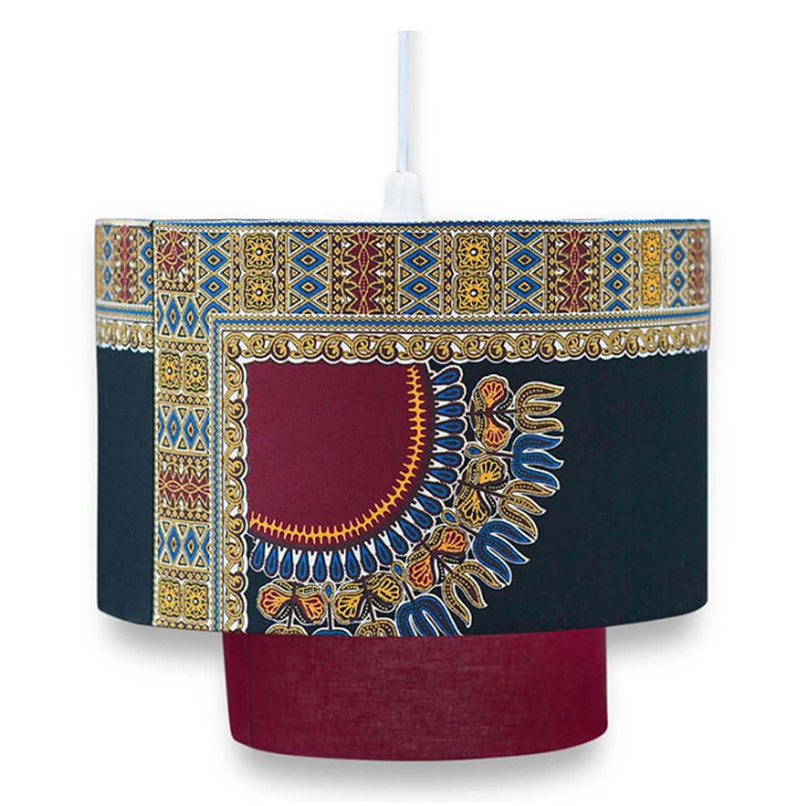 Yaw Burgundy Lamp Shade lifestyle