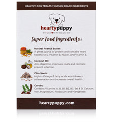 Blissful Brown | Vegan Dog Snack Made of 100% Plant-Based | Natural Superfoods ● Multivitamin, Fiber & Healthy Fats