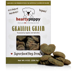 Grateful Green | Vegan Dog Snack Made of 100% Plant-Based Natural Superfoods ● Immune System & Overall Health