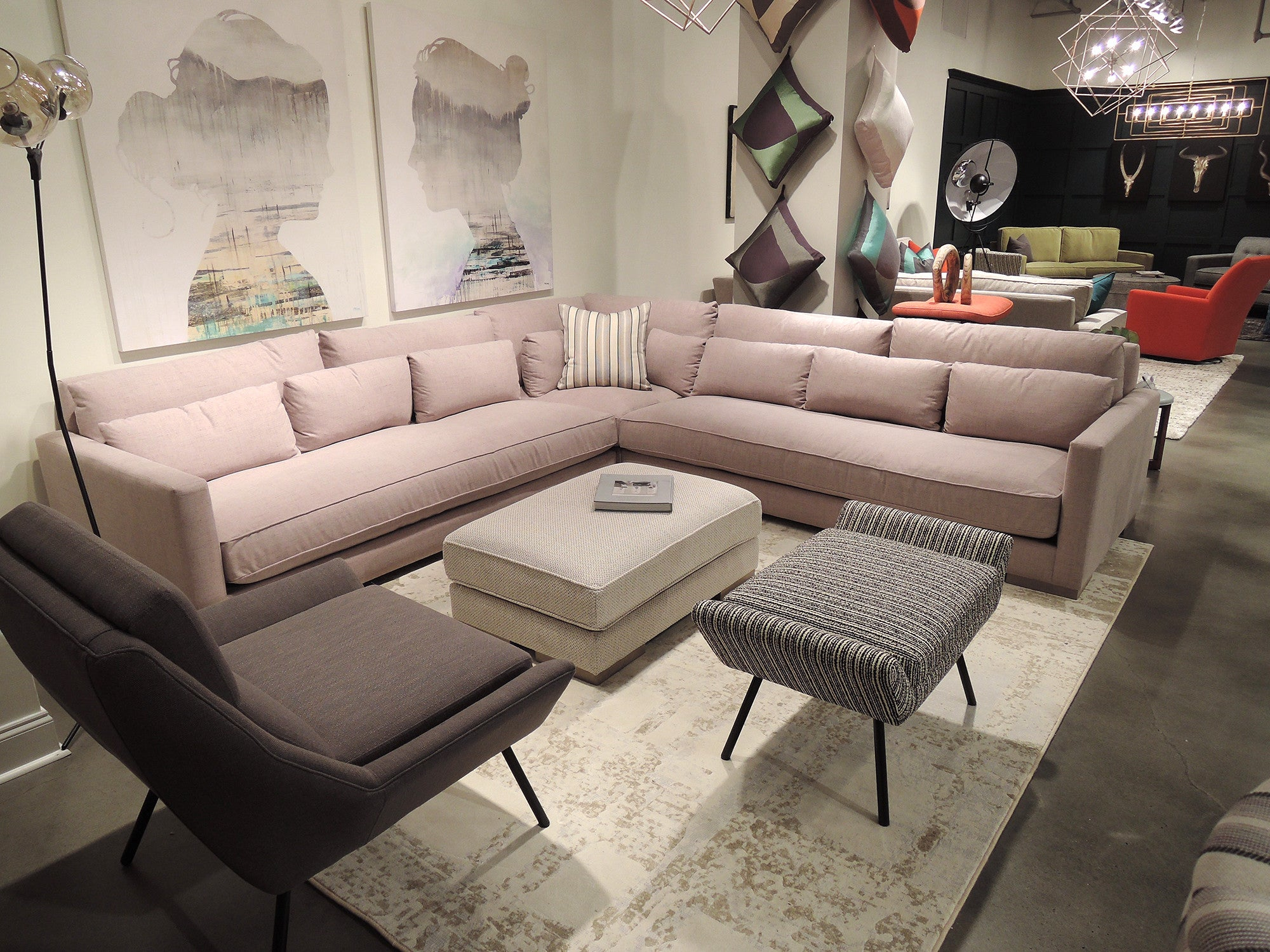 Chill Sectional by Younger Furniture at Five Elements Five