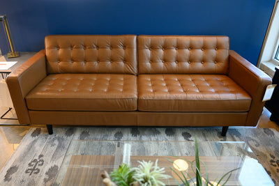 Reverie 2 Seat Sofa in Top-Grain Leather