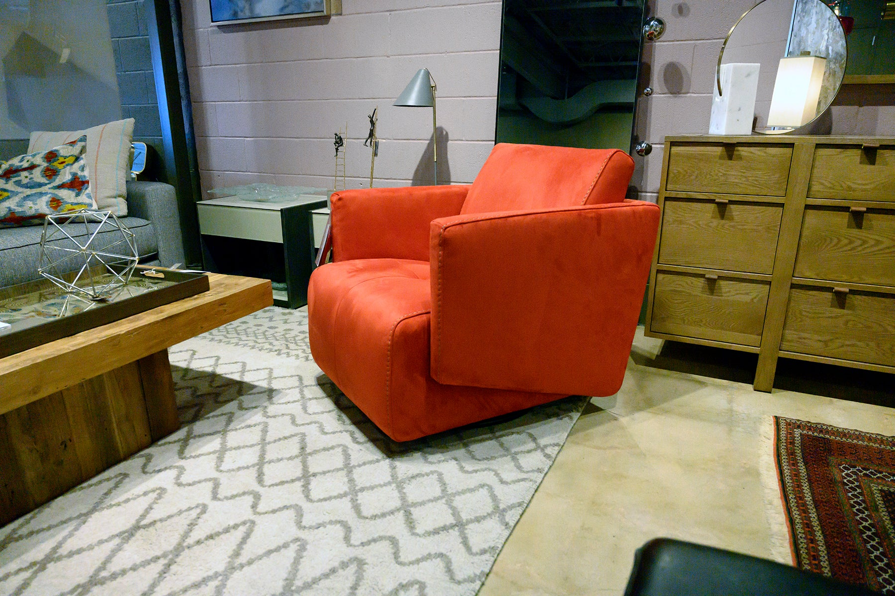 Freedom Swivel Chair at Solid Austin