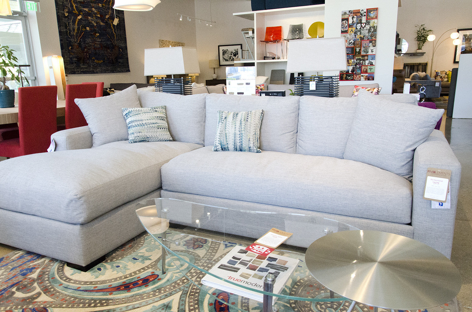 Gia Sectional By Younger Furniture At Five Elements Furniture