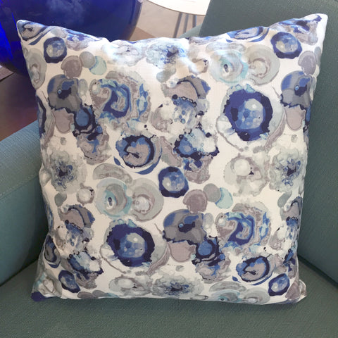 Kinetic Blues Pillows