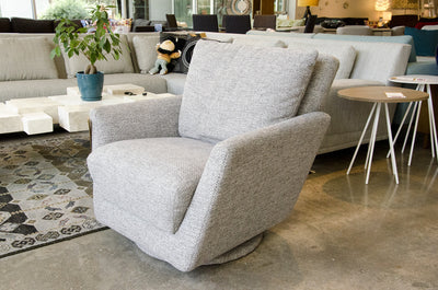 Mars Swivel Glider Chair By Lazar Industries Five