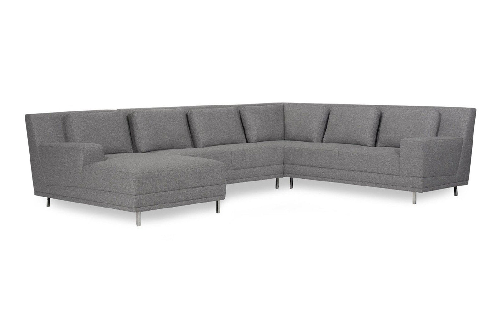 italian modula modular sectional in austin store five elements piazza sectional