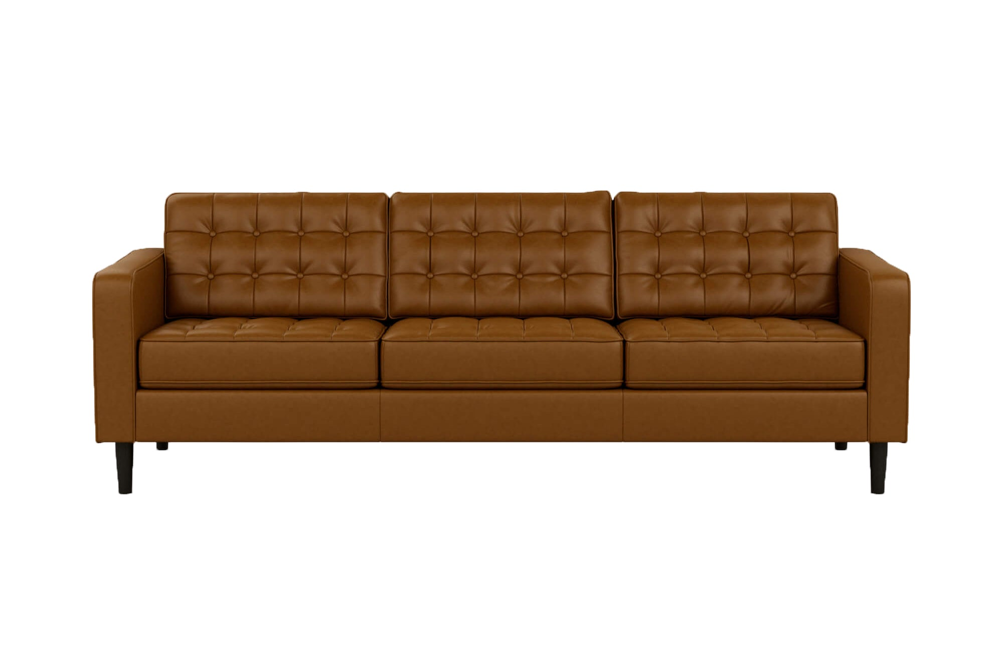 Reverie 3 Seat Leather Sofa - Quick Ship