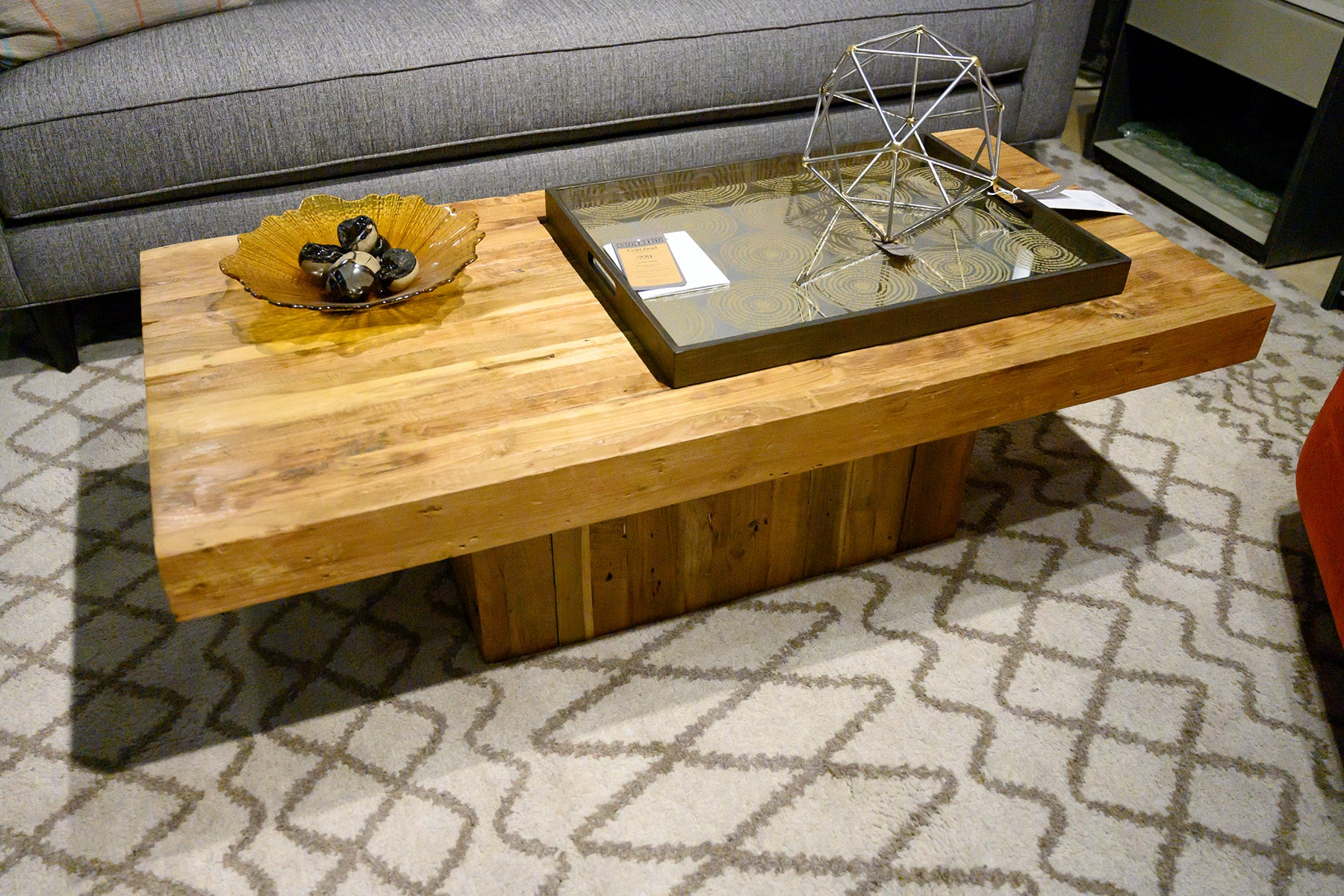 Maximus Coffee Table at Solid Austin