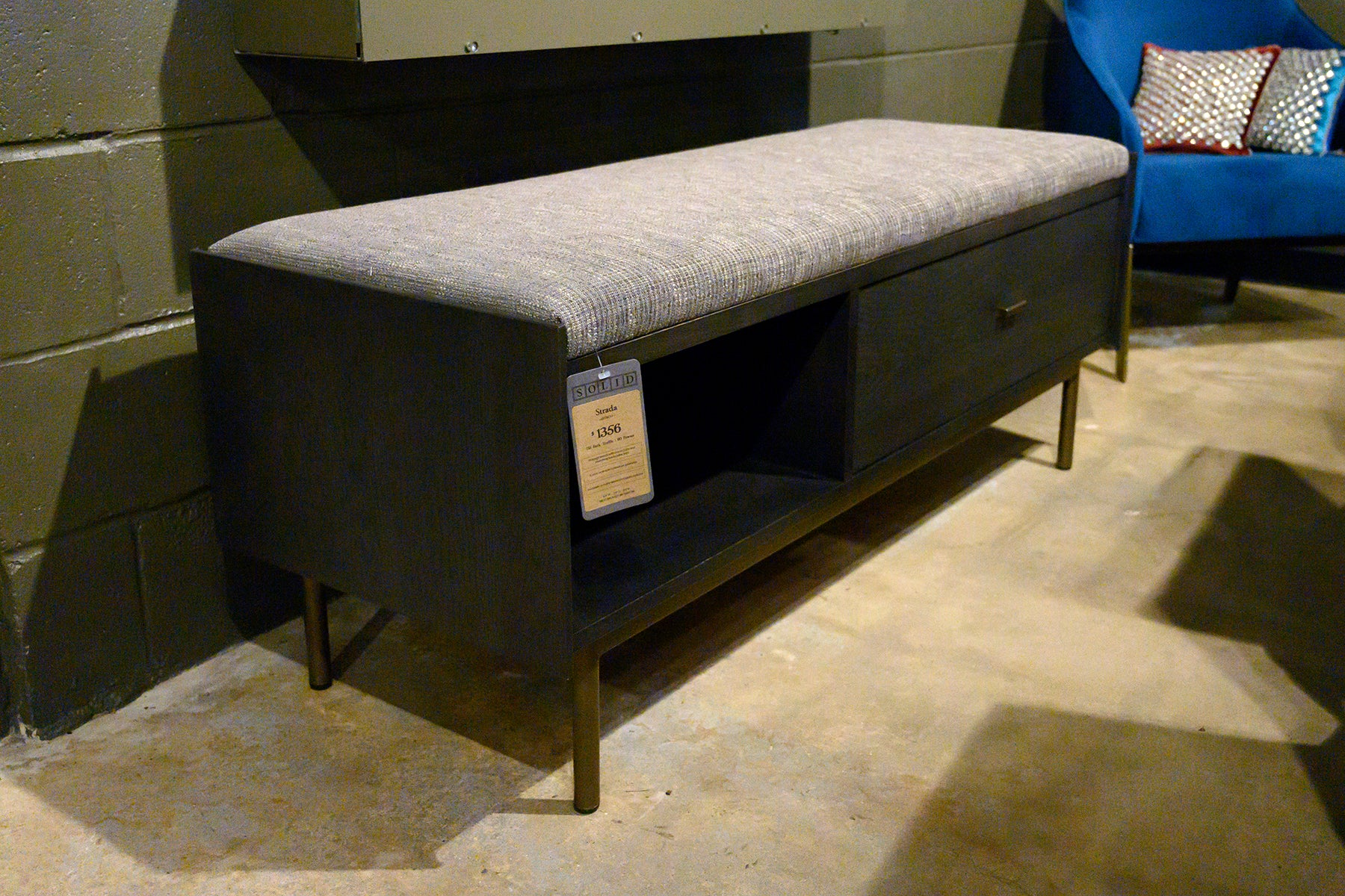 Strada Bench at Solid Austin