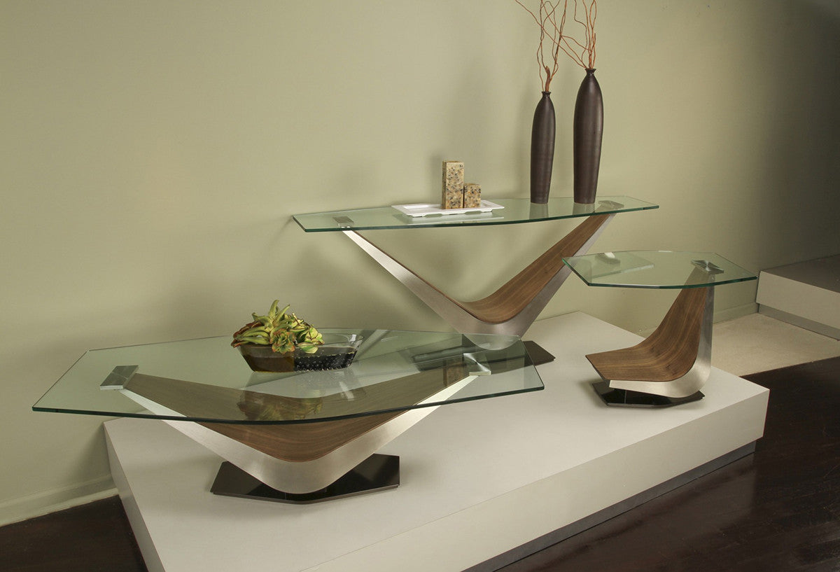 The contemporary designed victor occasional tables by elite modern victor console table geotapseo Image collections