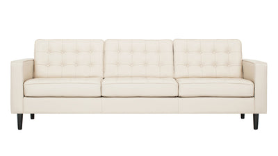 Reverie 3 Seat Leather Sofa
