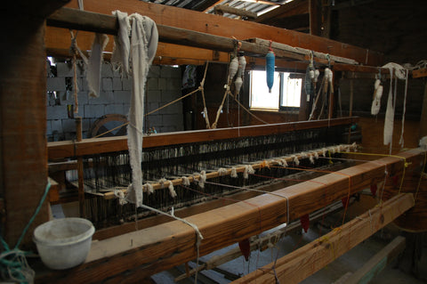 tweed manufacturing and production process in a Scottish workhouse
