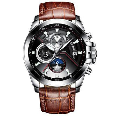 Binger Brand Automatic Watch for Men Sports B-1189 - Grmontre Watches