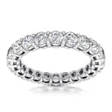 DIAMOND ETERNITY BAND- 4.25CT