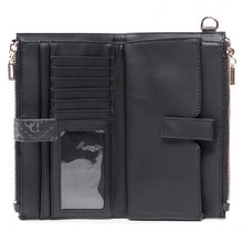 Afbeelding in Gallery-weergave laden, GUESS  Tyren Zip Wallet  Black