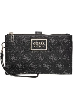 GUESS  Tyren Zip Wallet  Black